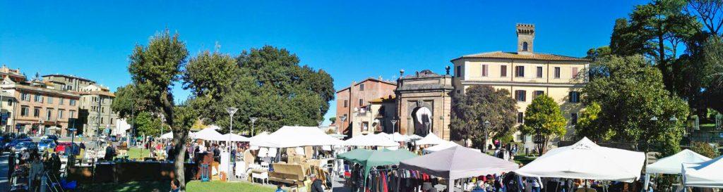 mercato dell'antiquariato a campagnano