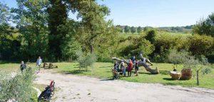 Orto Bio vicino Roma e parco giochi