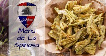 menù della contrada de La Spinosa