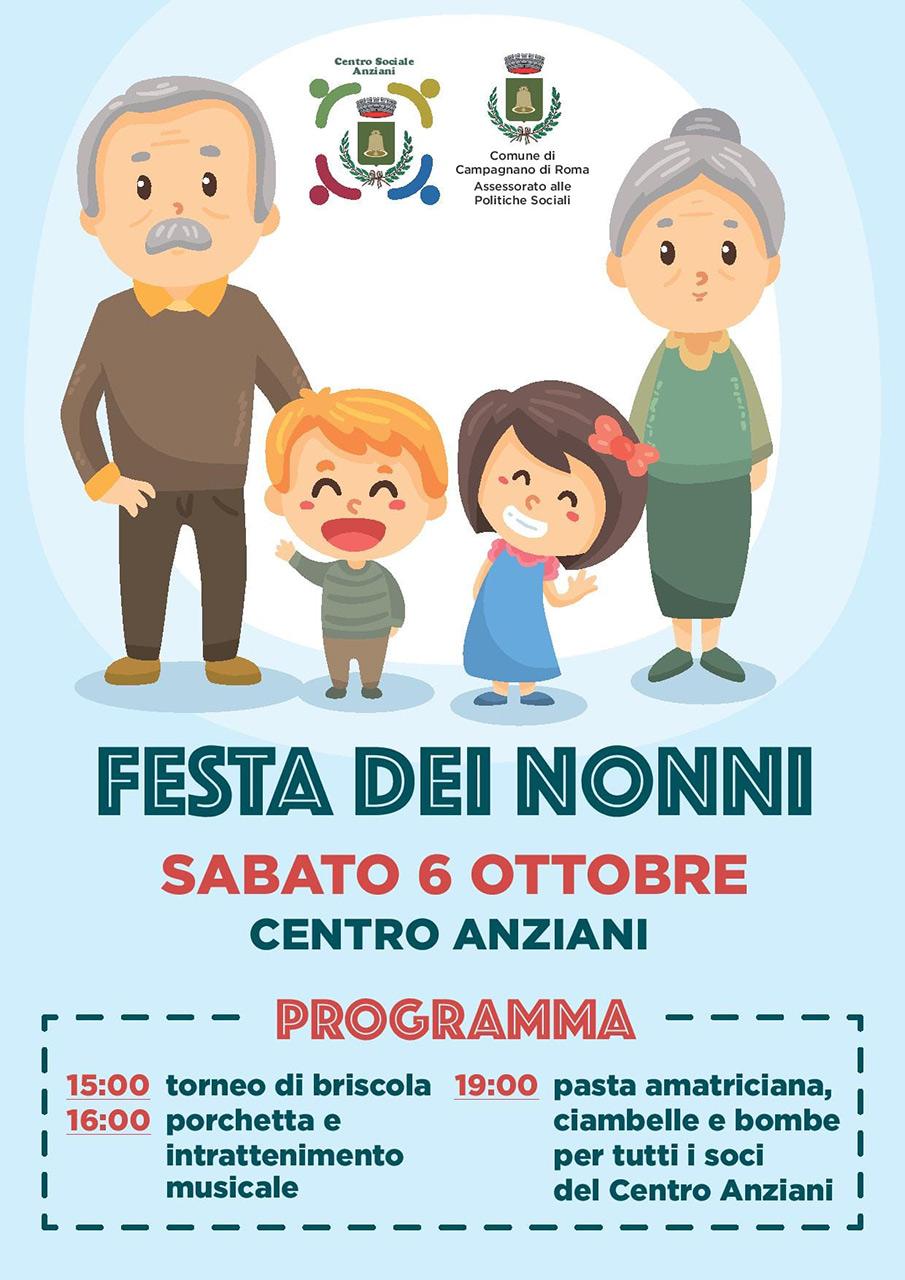 Calendario Festa Dei Nonni.Festa Dei Nonni A Campagnano 6 Ottobre Campagnano E Dintorni
