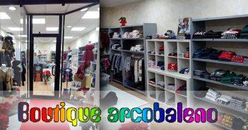 Boutique Arcobaleno: abbigliamento per bambini