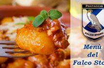 menù della contrada Falco Storo