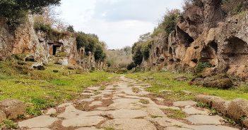 Via Francigena, Via Clodia e Via Amerina