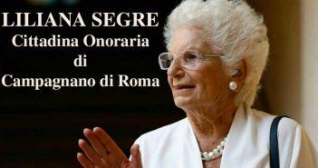 Liliana Segre cittadina onoraria di Campagnano