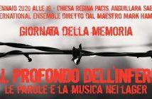 Concerto DAL PROFONDO DELL'INFERNO ad Anguillara