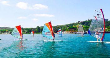 vela sul Lago di Bracciano