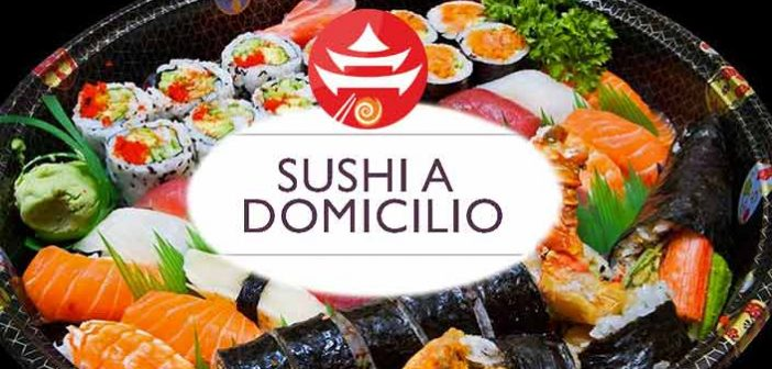 sushi house vetrina