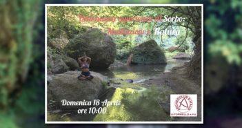 sorbo tra trekking e yoga
